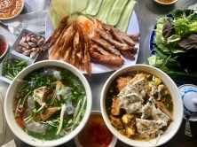 Food tour with our friend Linh from Hidden Saigon
