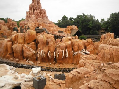 Big Thunder Mountain Railroad. Jordan's favorite!