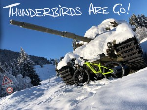 Thunderbirds are Go!……..on ice tyres!