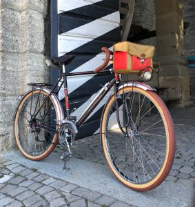 A soulful bicycle which carries the name of a true cycling raconteur; Raphael Geminiani