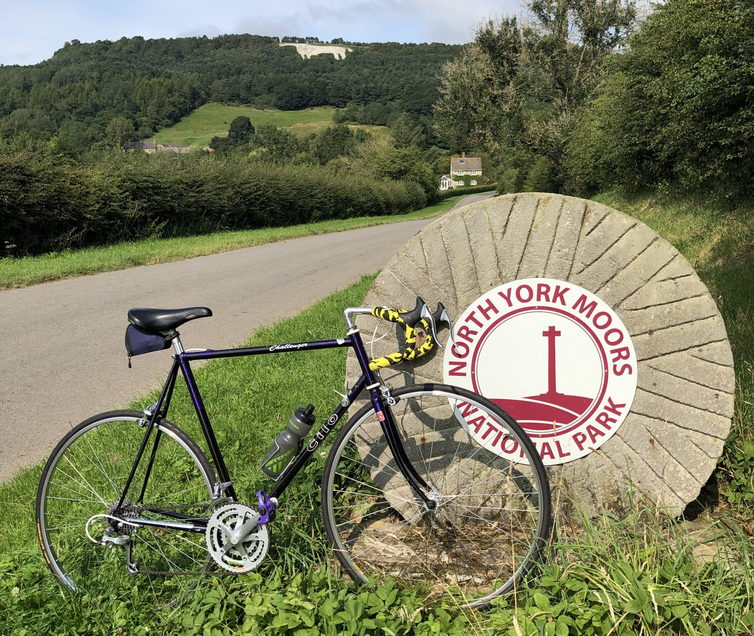 A Big White Yorkshire Horse And A Swiss Cilo Horse Diary Of A Cycling Nobody