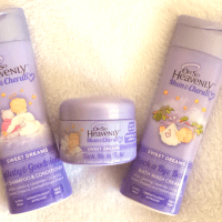 My baby's bedtime routine & Oh So Heavenly Mum & Cherub Products {Review}