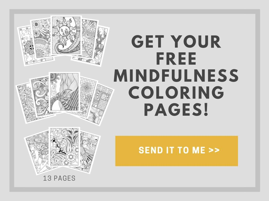 13 Free Printable Mindfulness Colouring Sheets