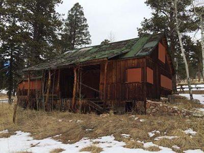 Francis Staunton cabin