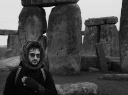 at stonehenge