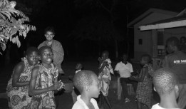 dancing with Bagbor Tribe around the fire