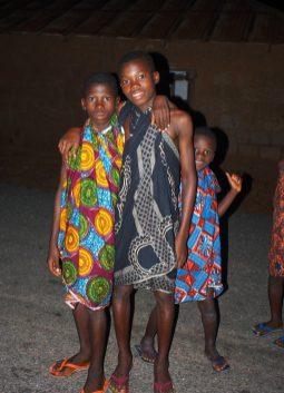 Bagbor dancers, 2016.