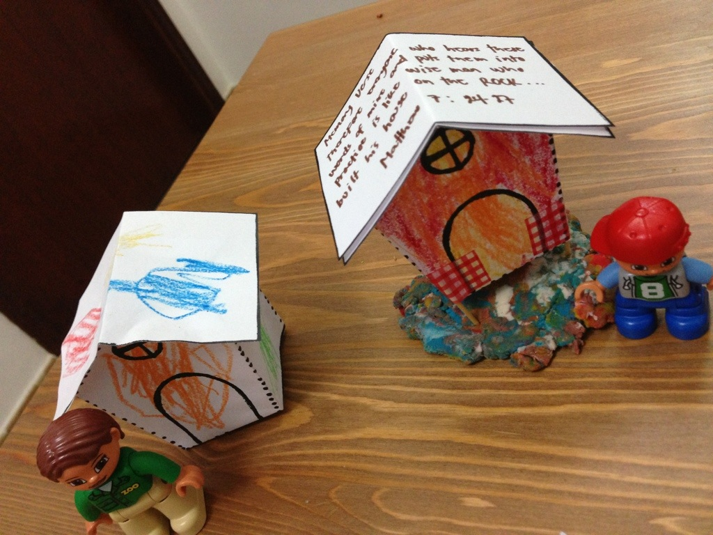 Teaching Bible Verse To Kids The Story Of Wise And
