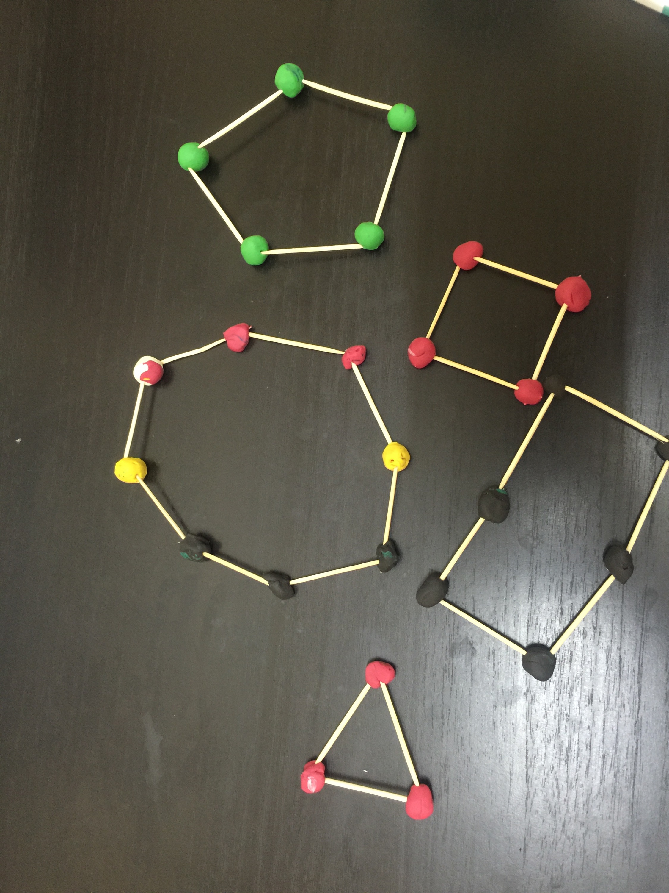 Stem Activity Toothpick And Clay Geometry Diary Of A