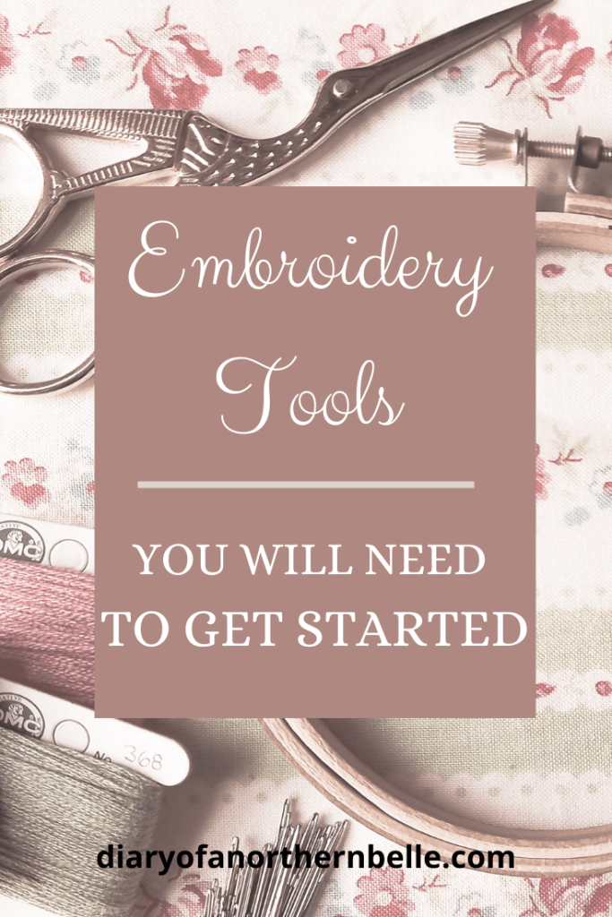 embroidery tools you will need to get started