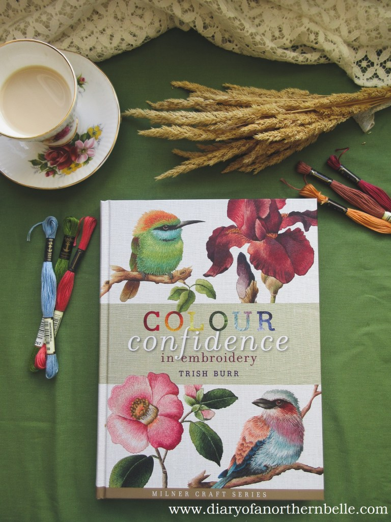book copy of Colour Confidence in Embroidery by Trish Burr