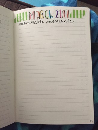 This is how the monthly cover pages start out before they get filled in.