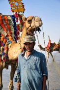 The Oont(Camel) Waala.. The angry young man with the looks!