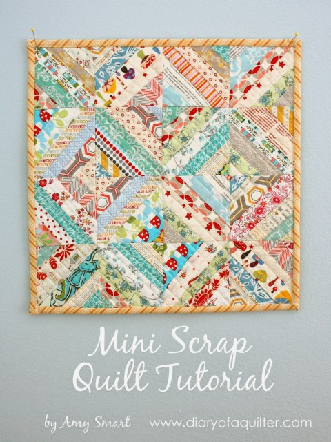 Mini Scrap Quilt Tutorial