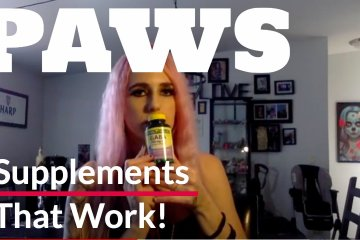 PAWS supplements that work