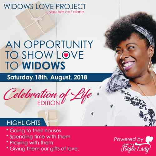 Widows Love Project 2.0 - Diary of A Single Lady by Esther Bamiloshin