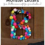 Monster letter craft