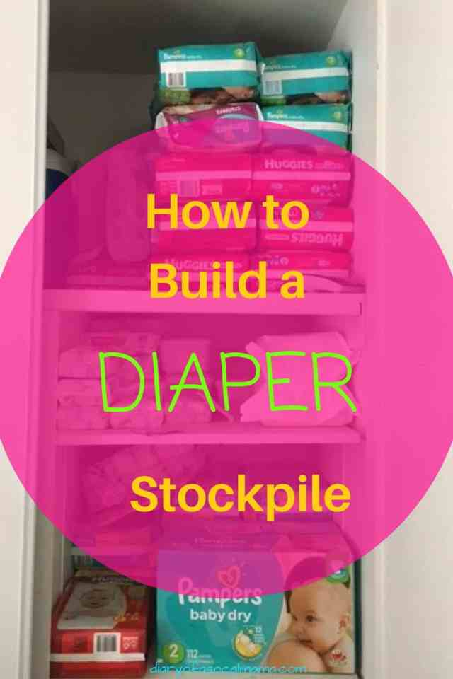 Baby   Diapers   Diaper Stockpile