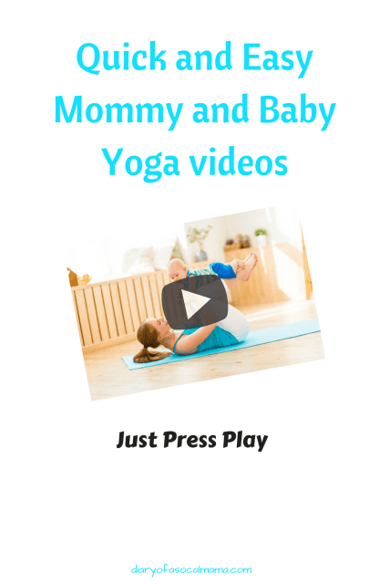 mom and baby yoga videos