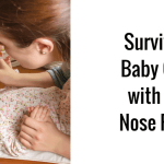 Survive a baby with a cold with the Nose Frida