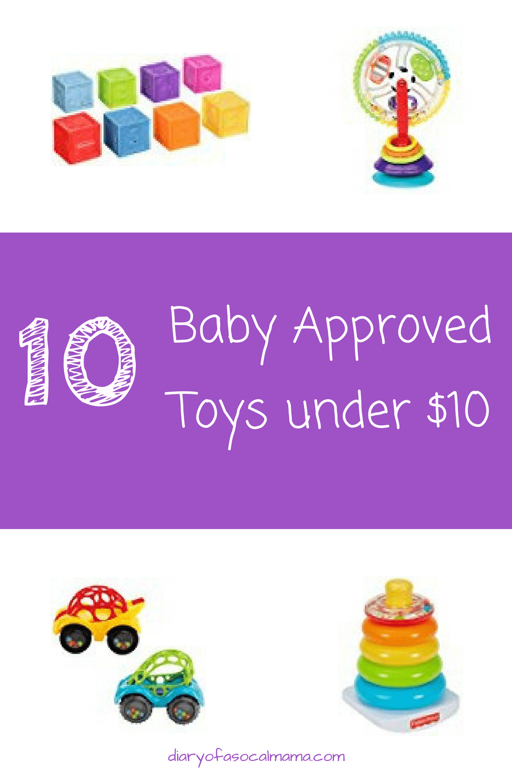 Baby toys under $10