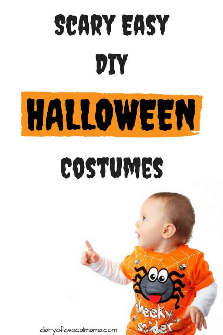 easy Halloween costumes  sc 1 st  Diary of a So Cal mama & A-Z guide to Easy DIY Halloween costumes - Diary of a So Cal mama
