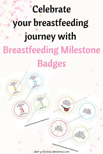 breastfeeding badges