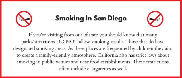 No Smoking in California