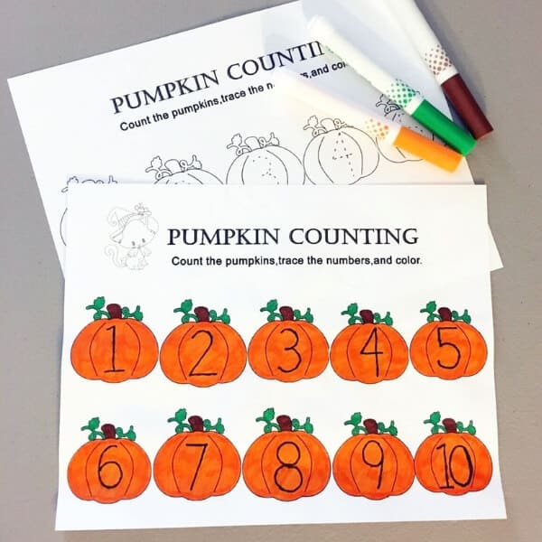 Halloween pumpkin printable