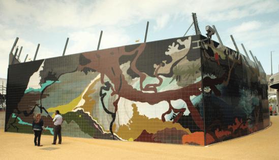 Brick Field mural