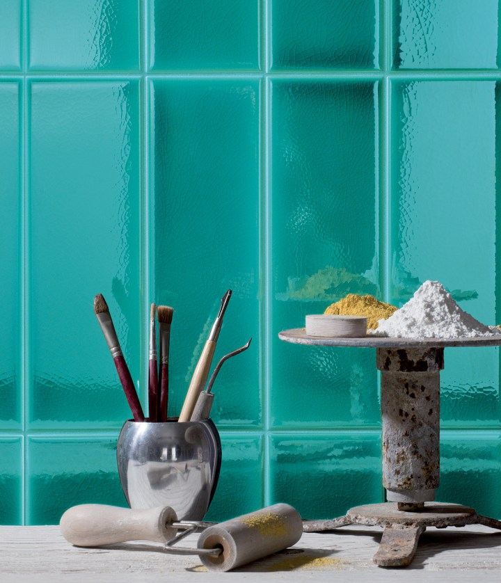 New turquoise colour from Cerasarda