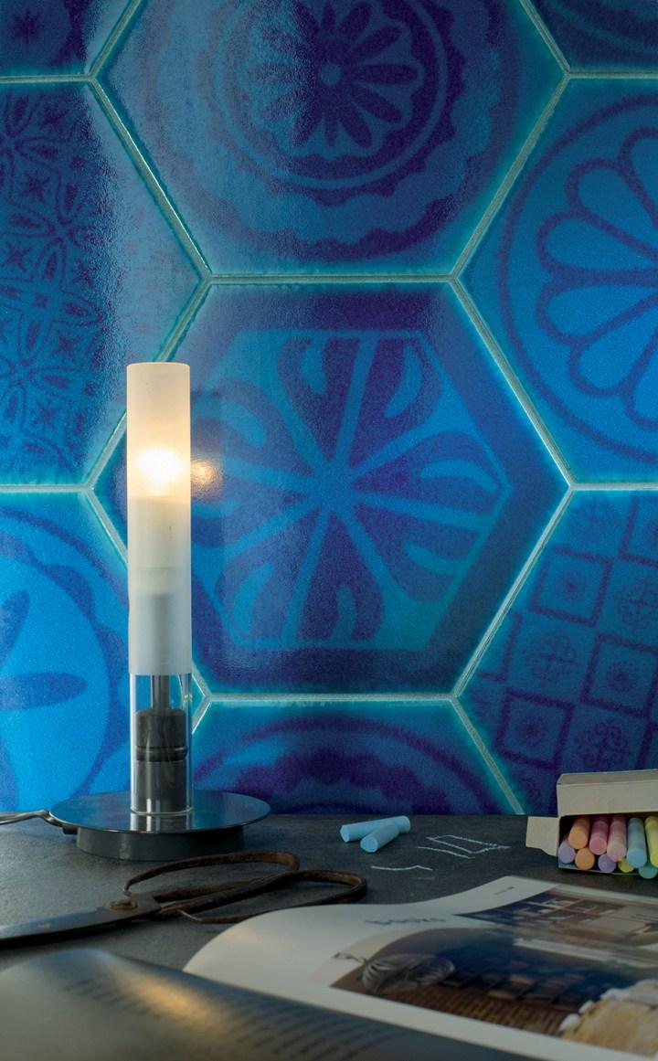 Hexagon Turchese by Cerasarda