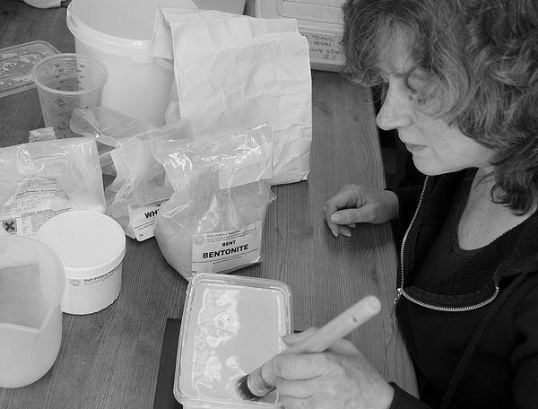 Sharon Jones at work