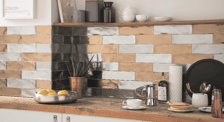 75 by 300mm tiles from the Industrial range by British Ceramic Tile