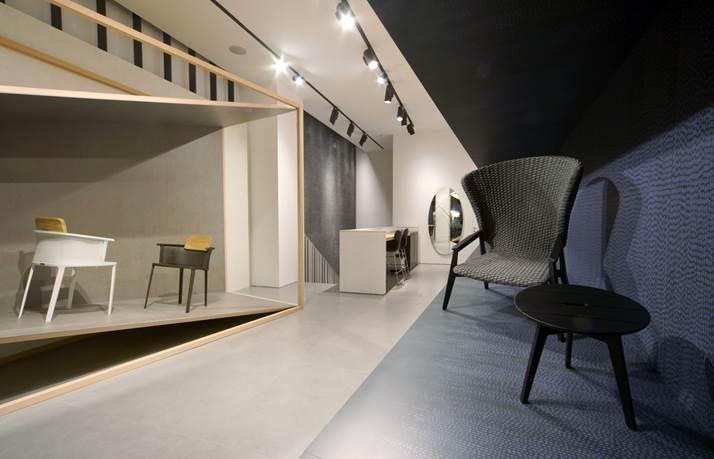The Lea Ceramiche Showroom in Milan