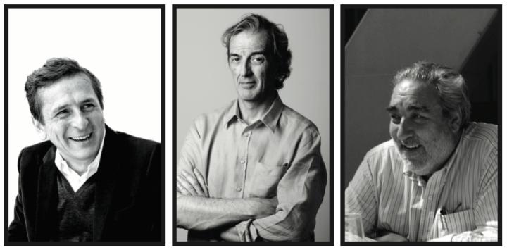 Emilio Tuñón, Rafael de la Hoz, and Eduardo Souto Moura.