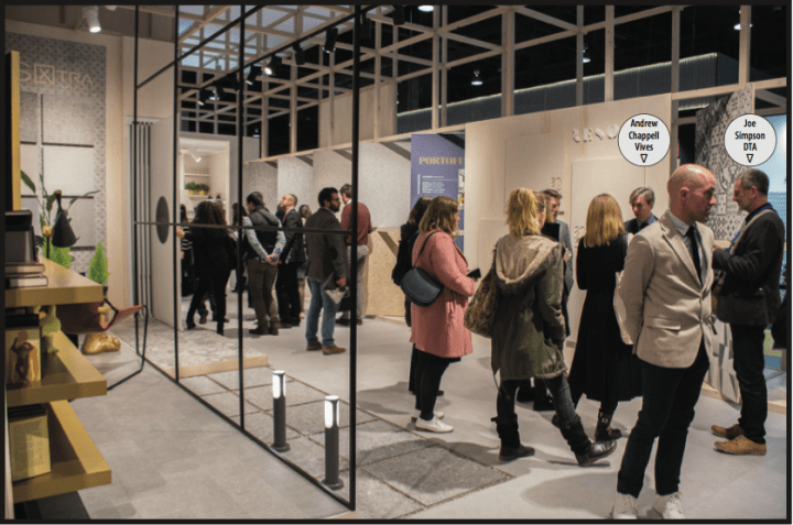 Diary of a Tile Addict visits the Vives stand at Cevisama