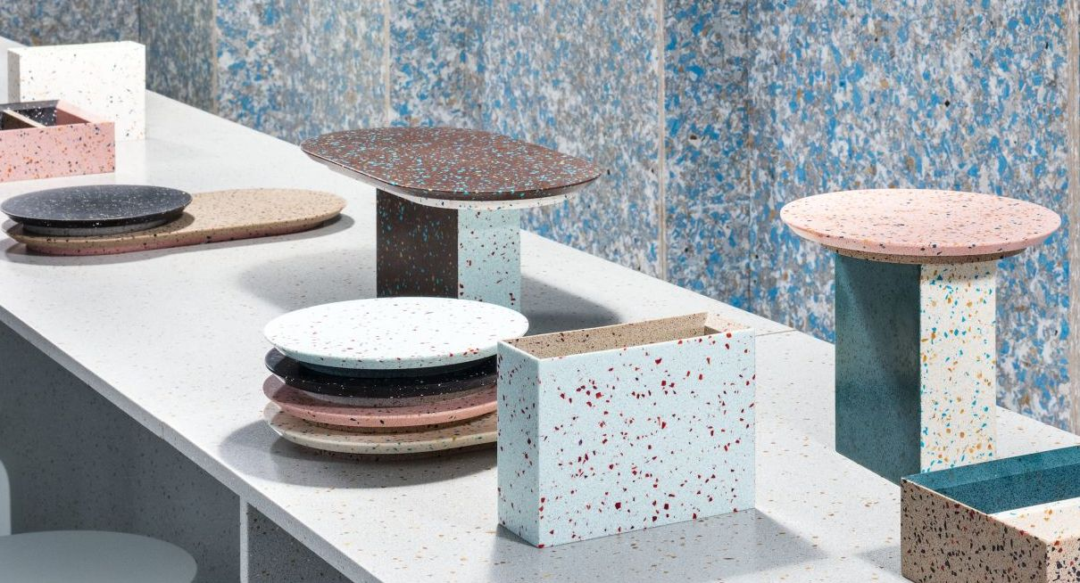 Durat Palace selection mineral colour pop recycled material finnish swedish