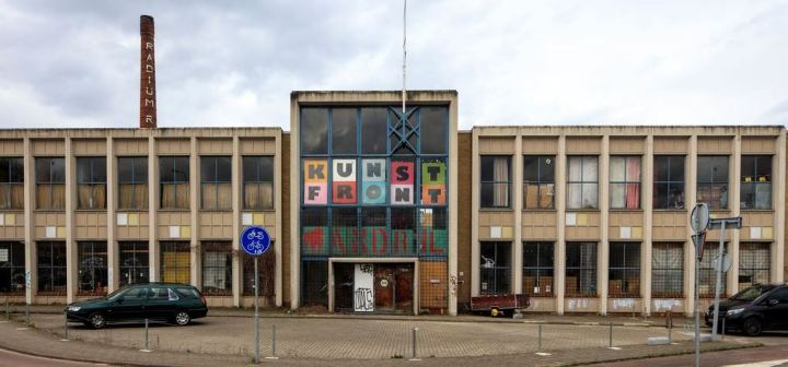Kunst Front Maastricht mosaic design cultural space