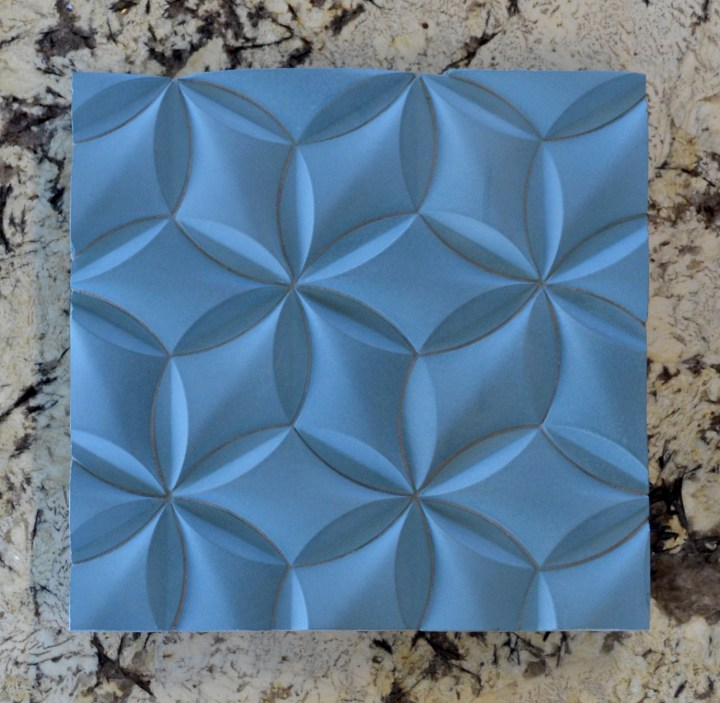 Manhattan Stone 3D concrete tile collection