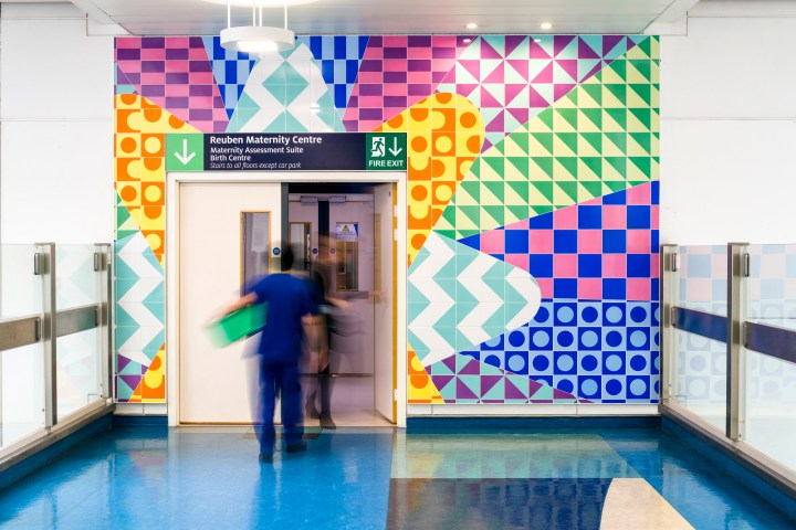 Adam Nathaniel Furman Reuben maternity centre hospital mosaic project