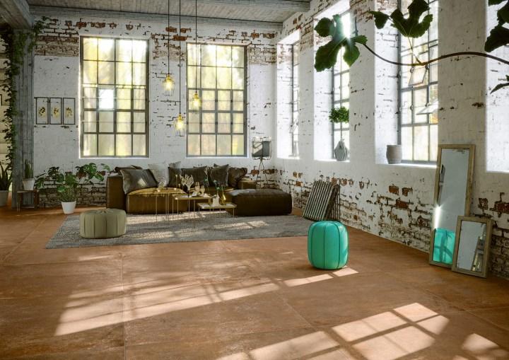 Serenissima Studio 50 new tile collection terracotta