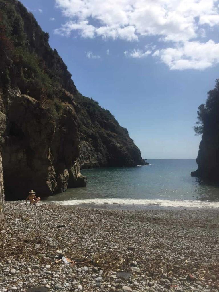 Crapolla Cove: Hiking in Massa Lubrense, Italy.