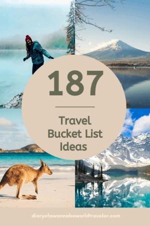 Bucket List Pinterest