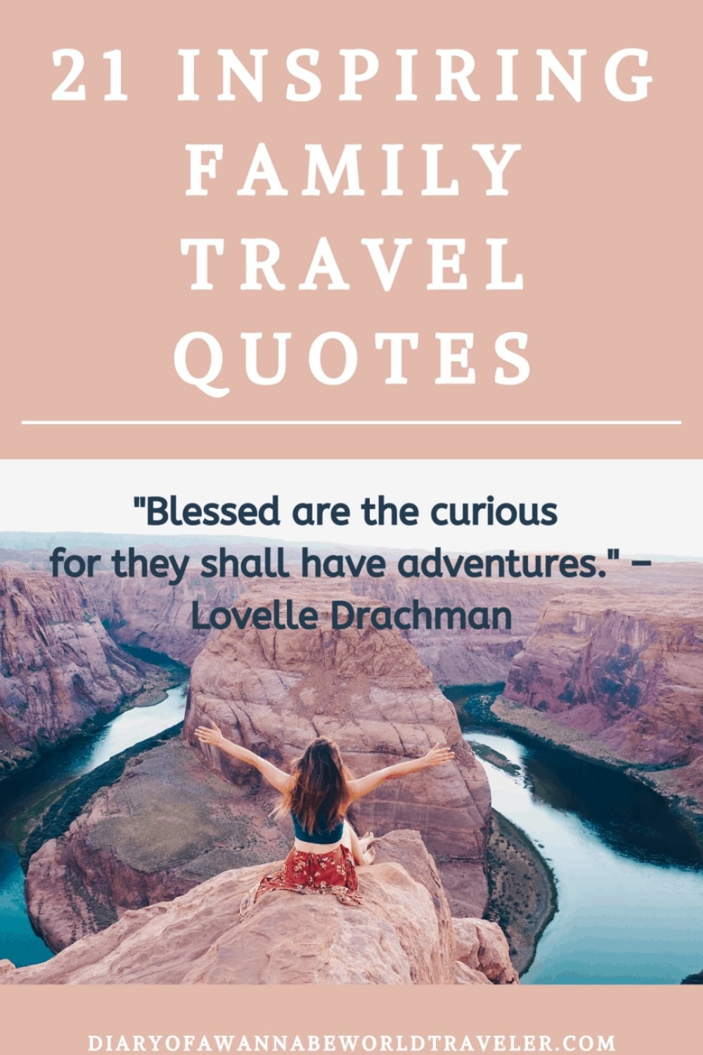 Family Travel Quote PIn
