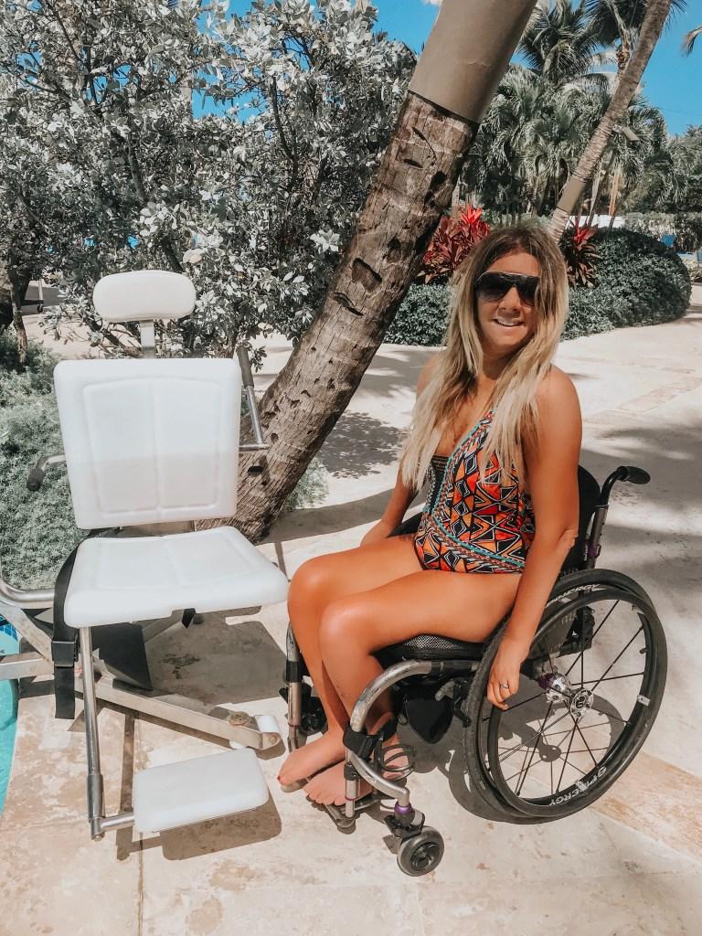 Rachelle Chapman Quadriplegic lingerie photo shoot
