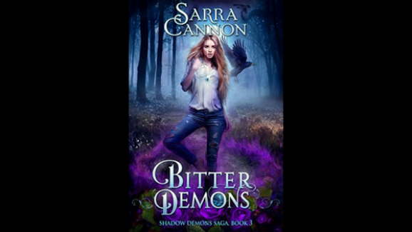 bitter demons - shadow demons - sarra cannon - book review blog diary of difference