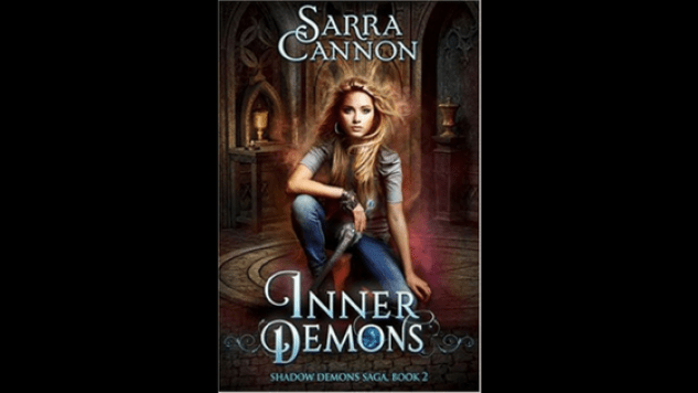 inner demons - shadow demons #2 - sarra cannon - book review