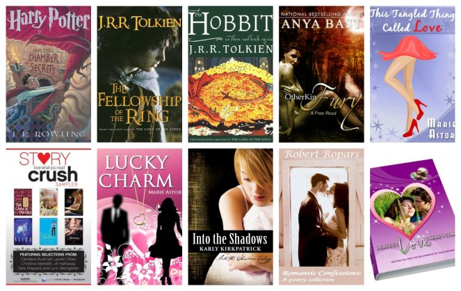 down the tbr hole books book review blog diary of difference love tbr am reading harry potter lord of the rings the hobbit romance erotica kindle amazon free