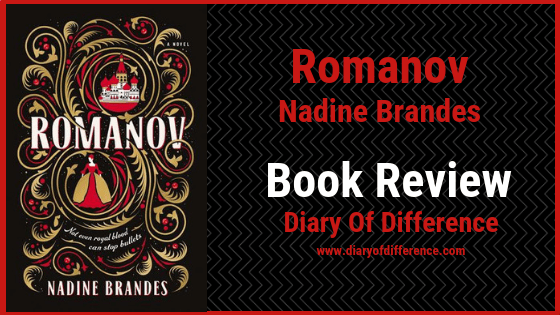 book review nadine brandes romanov book blog netgalley fawkes fantasy history russia anastasia tsar king